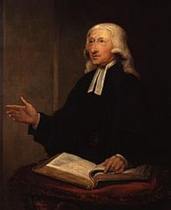 John Wesley with Old Testament